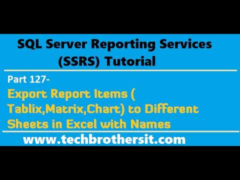 ssrs report tutorial for beginners