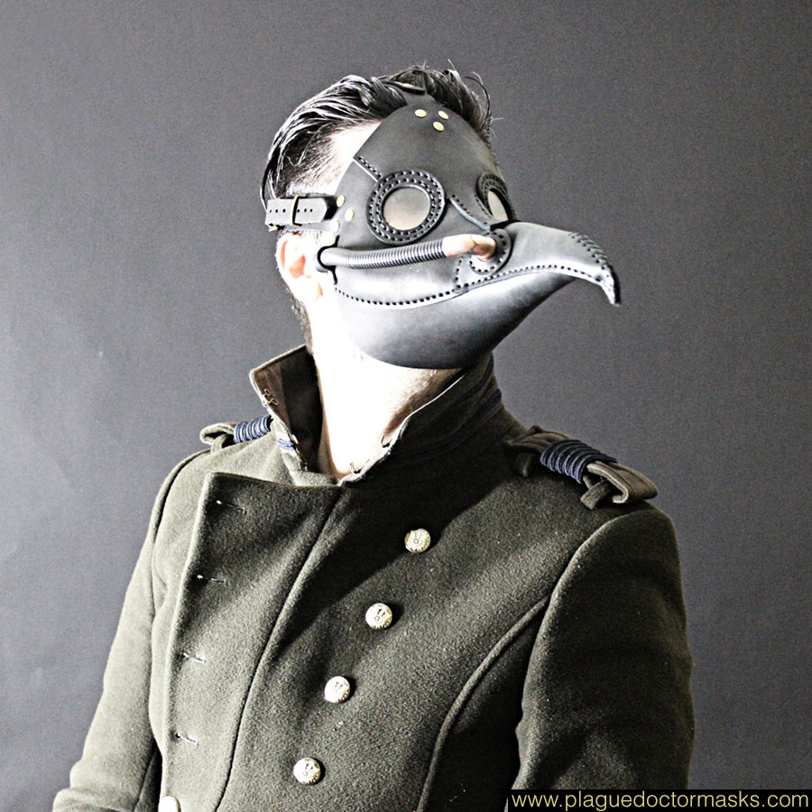 steampunk plague doctor mask tutorial
