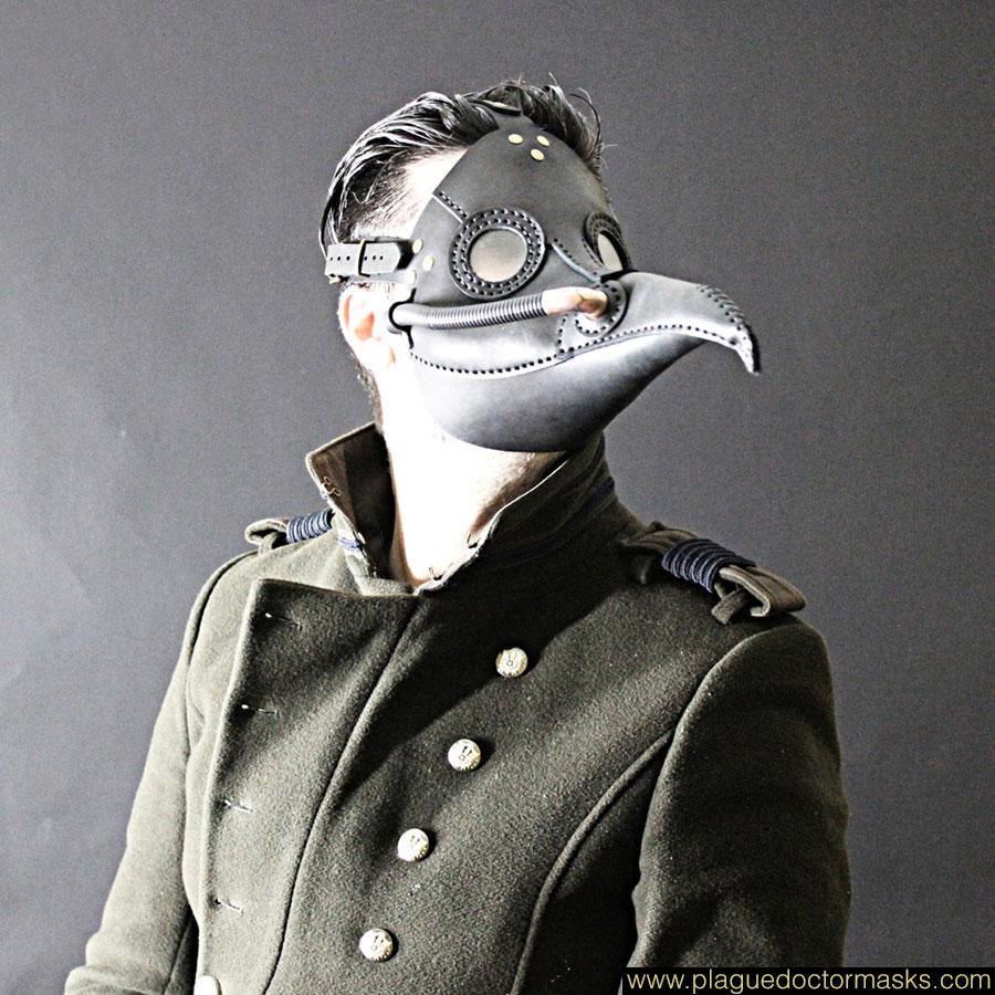 steampunk plague doctor mask tutorial