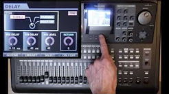 tascam dp 32sd tutorial