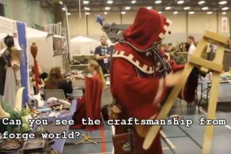 tech priest cosplay tutorial