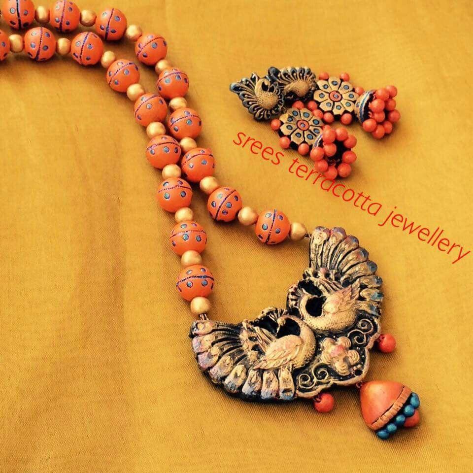 terracotta clay jewellery tutorial