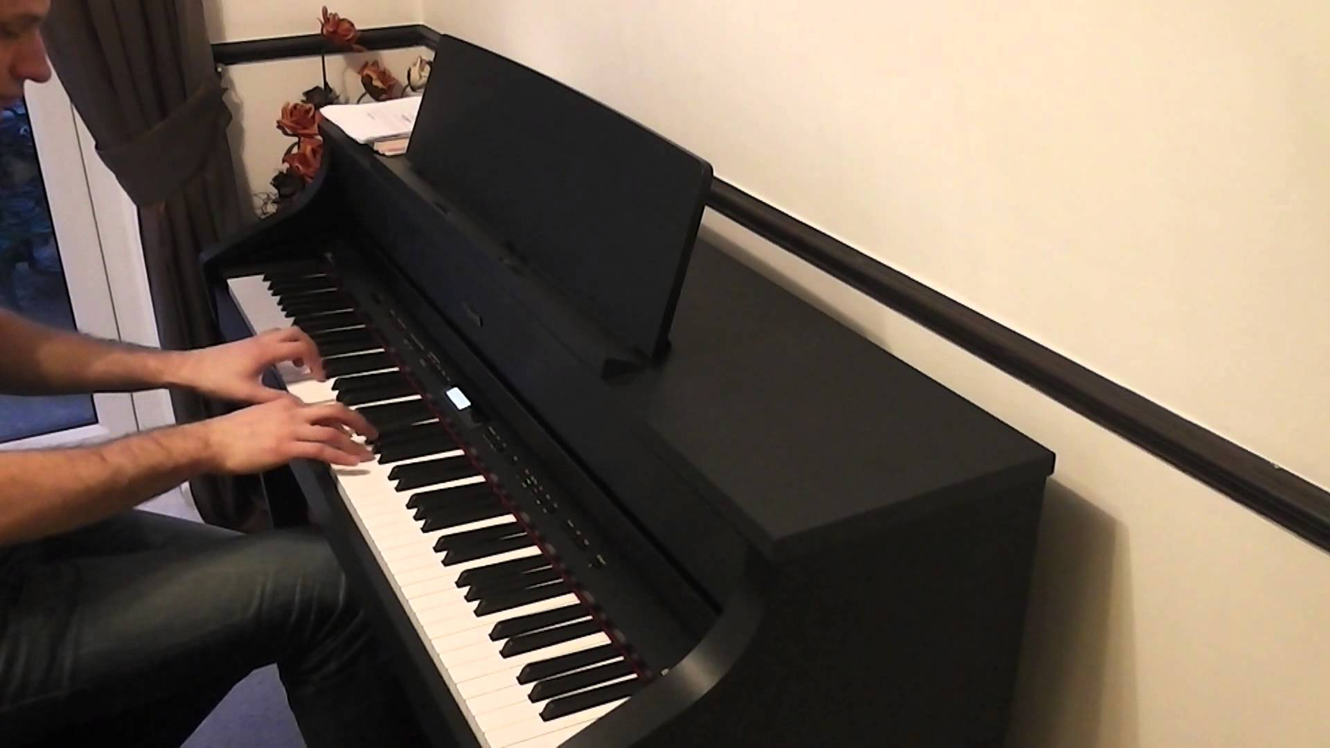 the heart asks pleasure first piano tutorial
