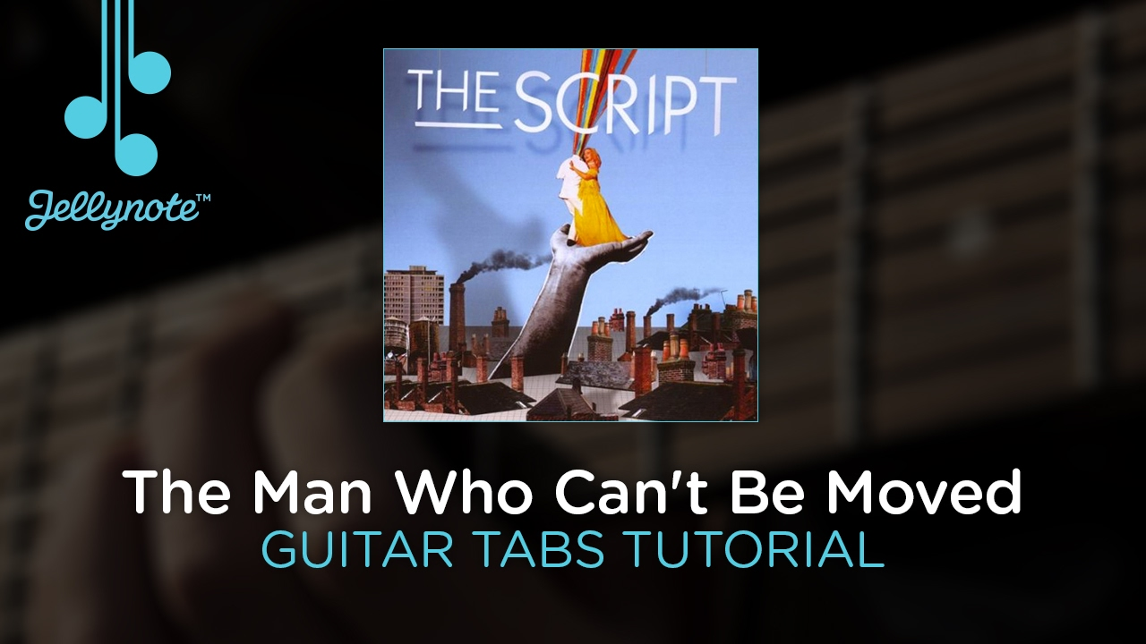the man who can t be moved guitar tutorial