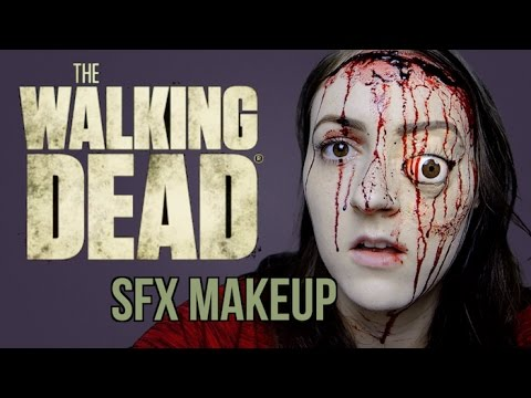 the walking dead makeup tutorial