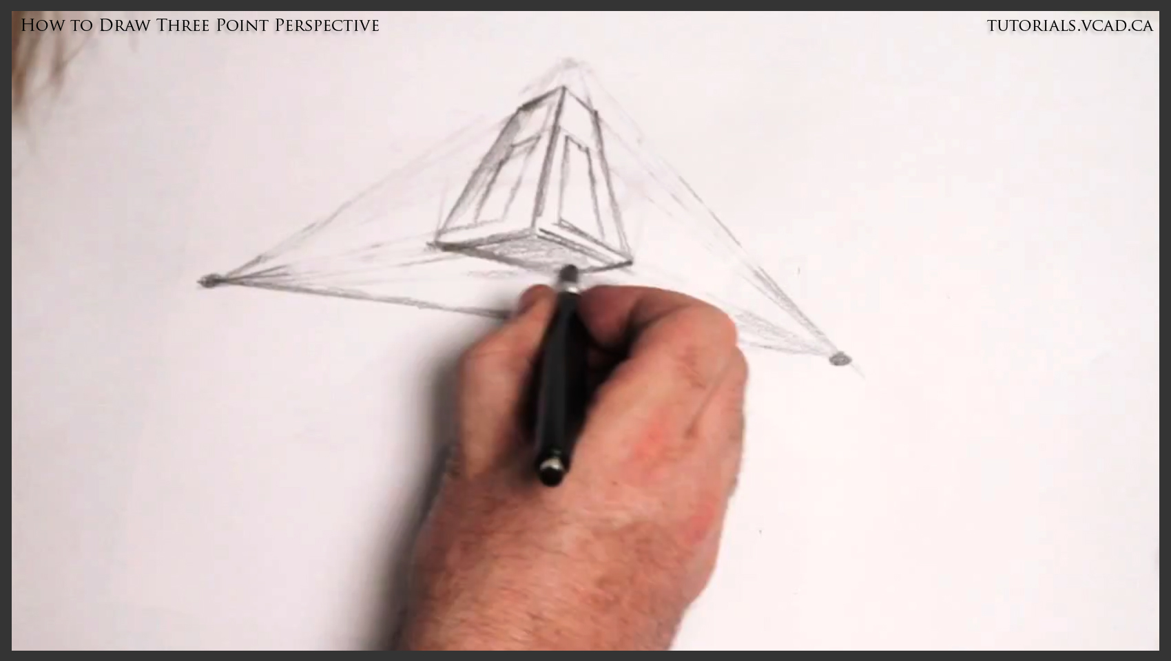 three point perspective tutorial
