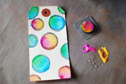 tim holtz distress paint tutorial