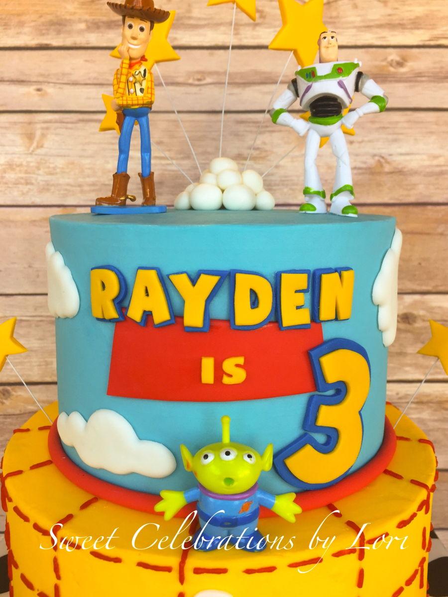 toy story cake tutorial