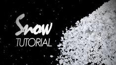 trapcode particular snow tutorial