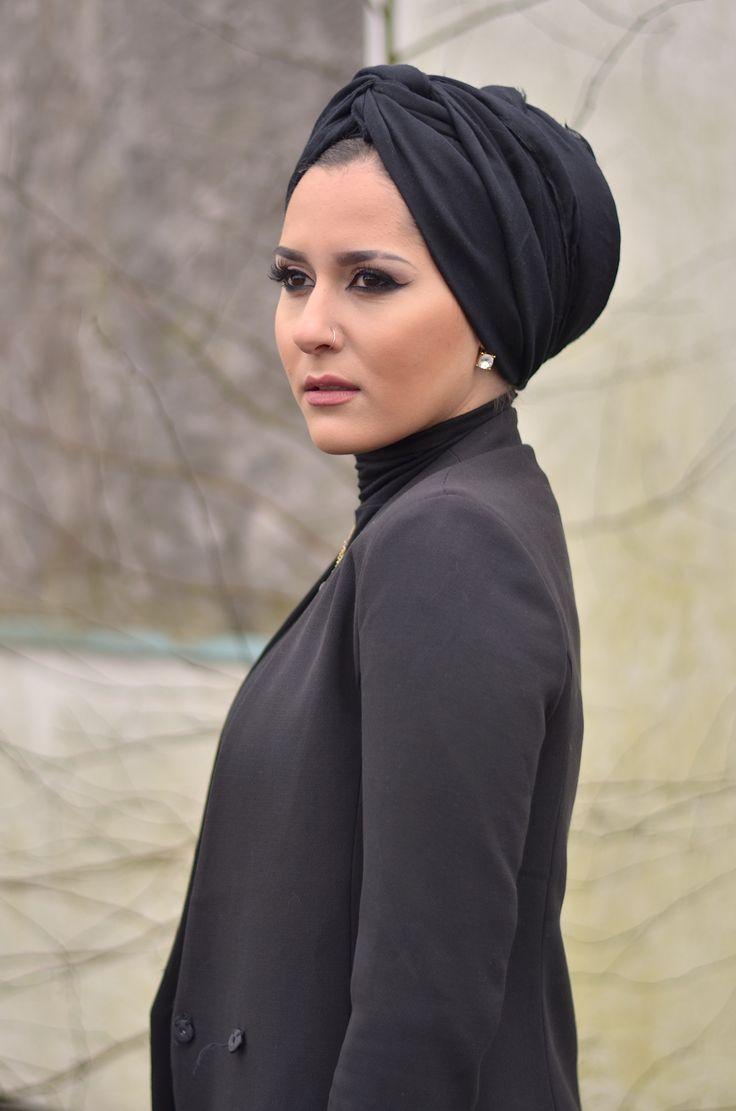 turban style hijab tutorial