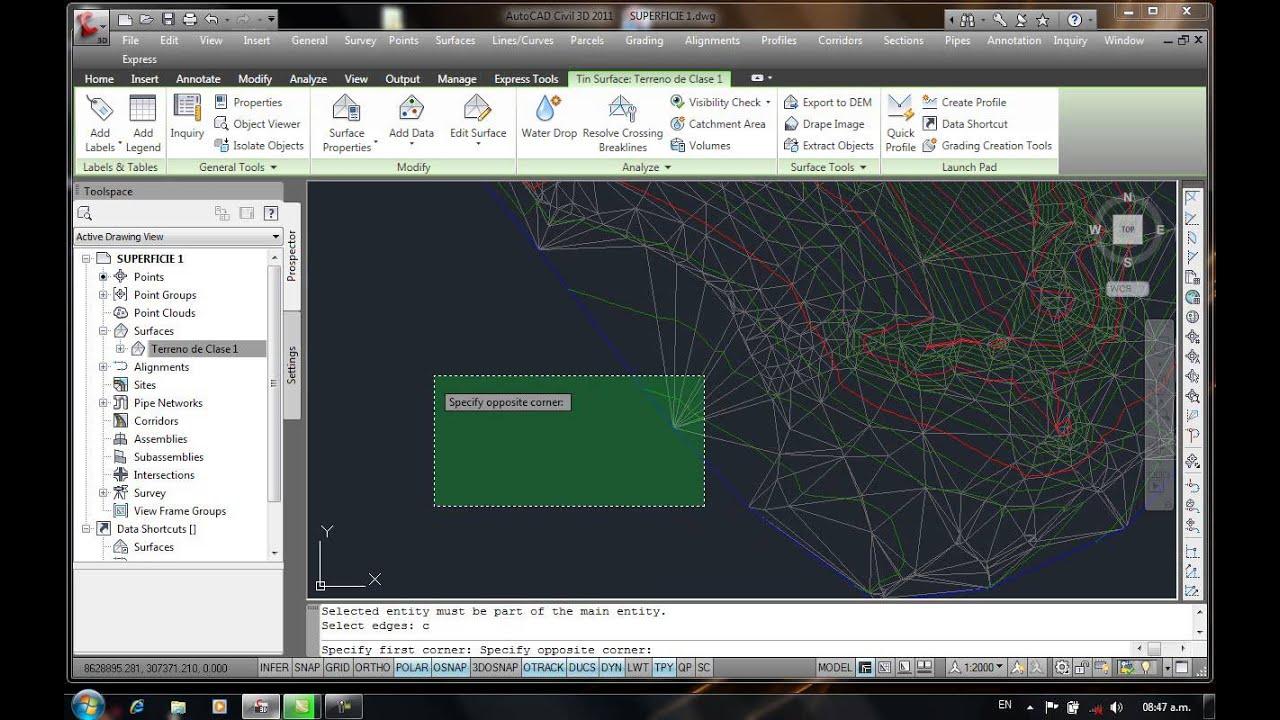 tutorial autocad civil 3d