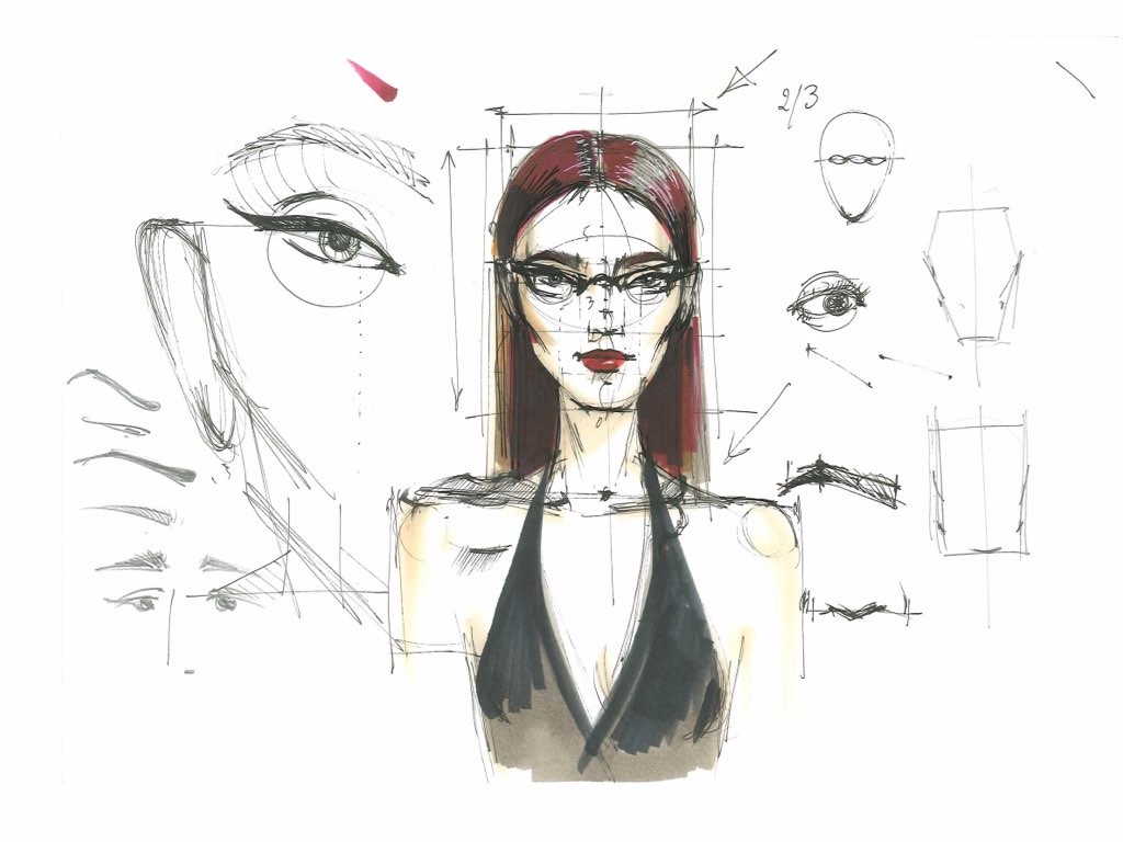 tutorial fashion figures for beginners