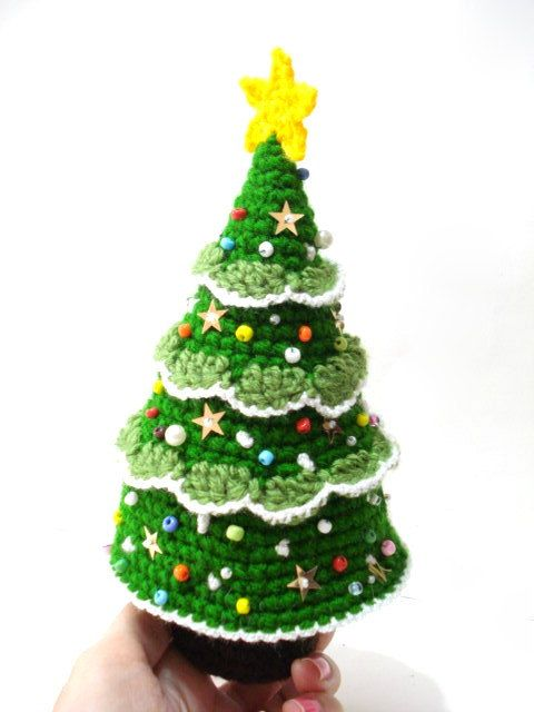 tutorial to crochet a tree with branches