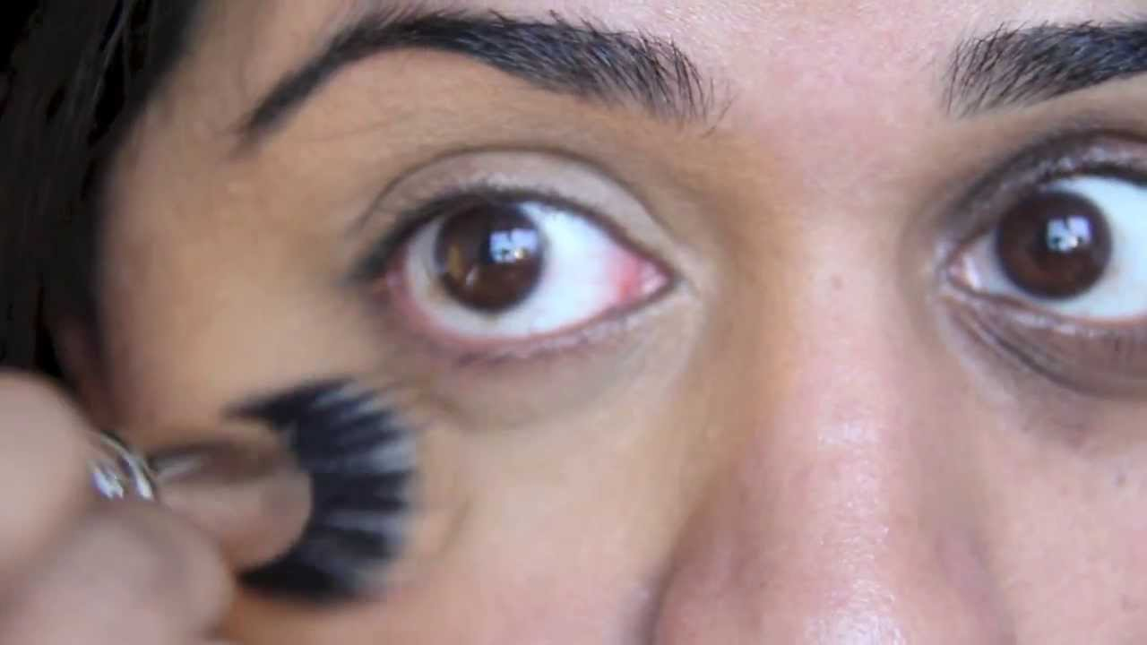 under eye concealer tutorial