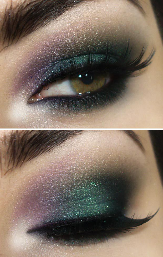 under eye shadow tutorial