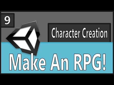 unity character creation tutorial