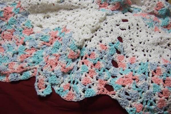 v stitch crochet blanket tutorial