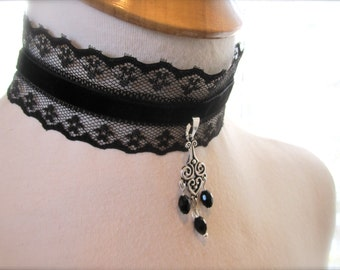 victorian choker necklace tutorial