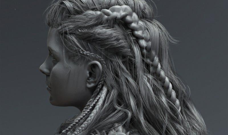 video game hair tutorial