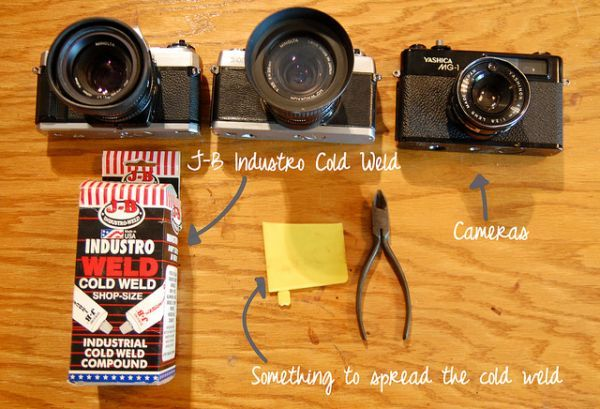 vintage camera lamp tutorial