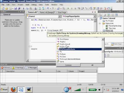 visual basic animation tutorial