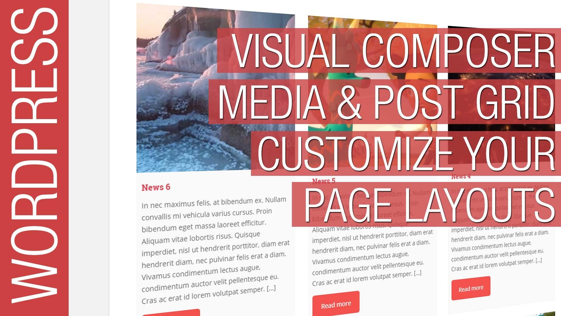 visual composer wordpress tutorial