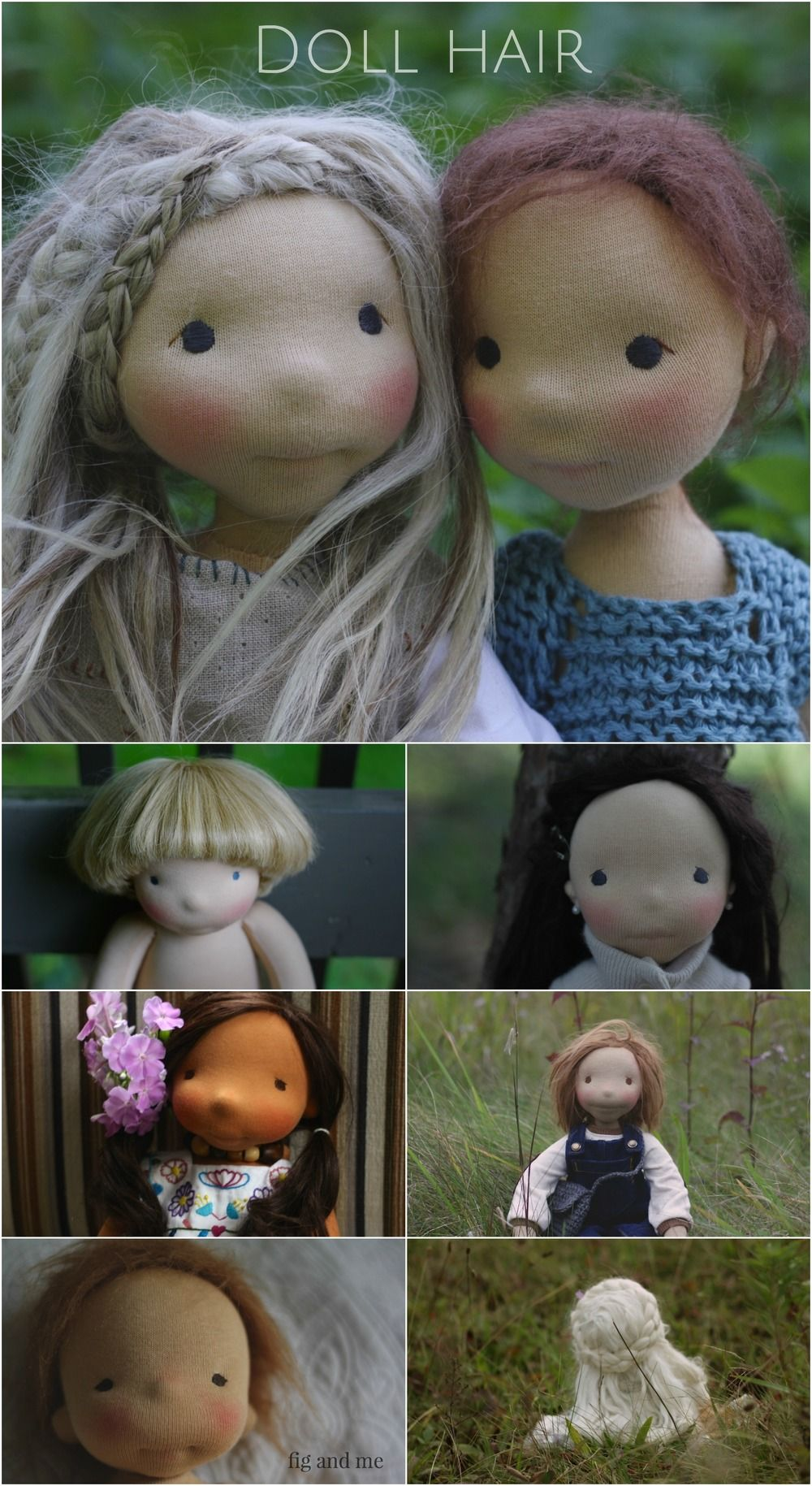 waldorf doll making tutorial