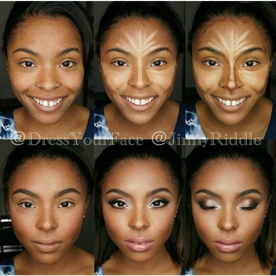 wedding makeup tutorial for black skin