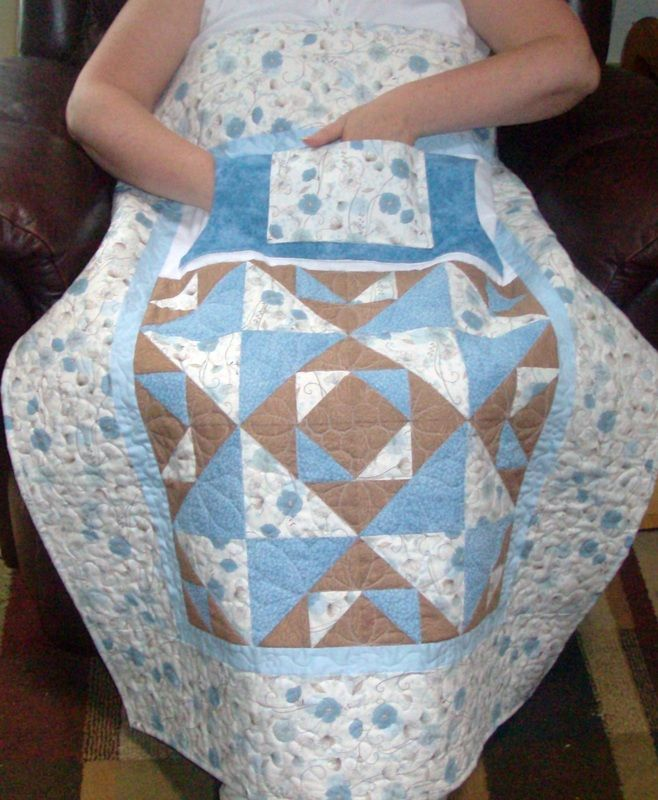 wheelchair lap quilt tutorial