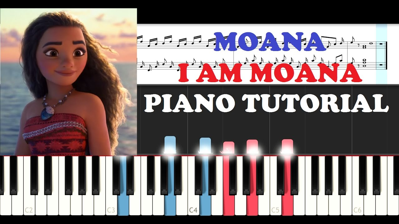who am i piano tutorial