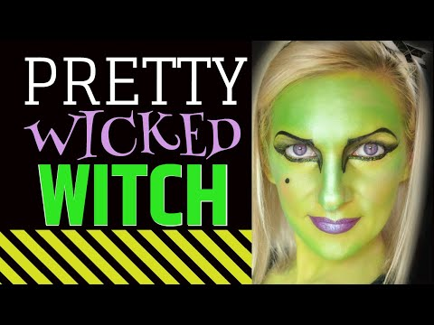 witch face paint tutorial