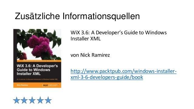 wix installer tutorial pdf
