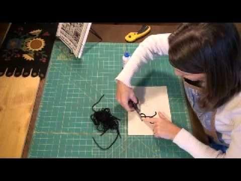 wool felt applique tutorial