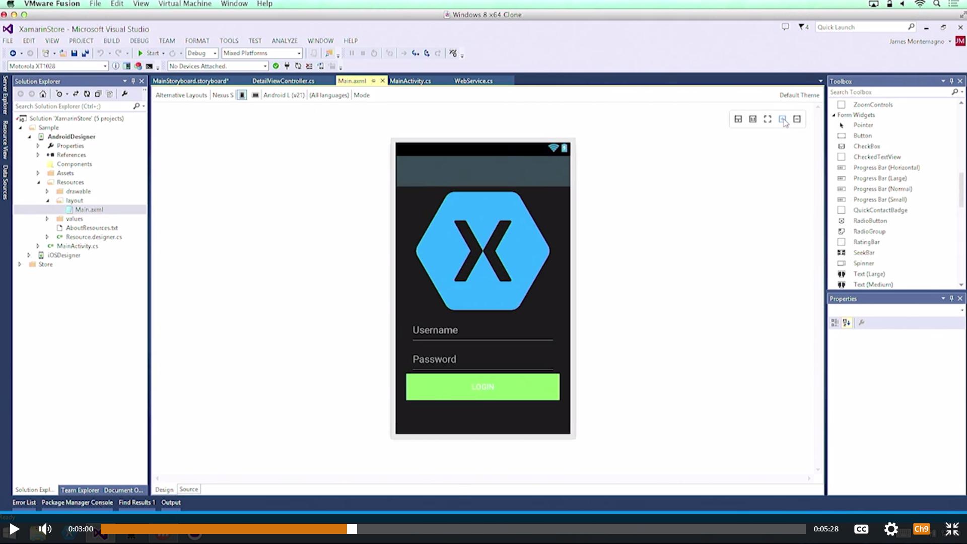 xamarin visual studio 2015 android tutorial