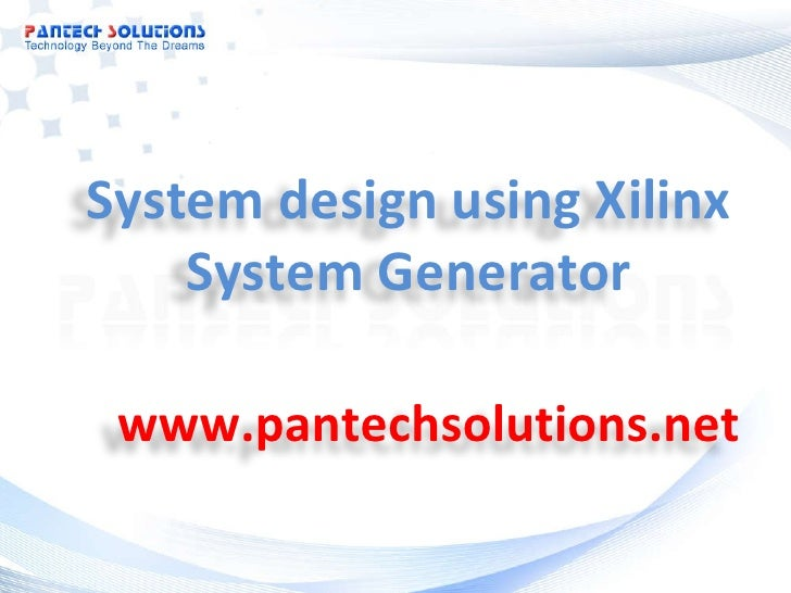 xilinx core generator tutorial
