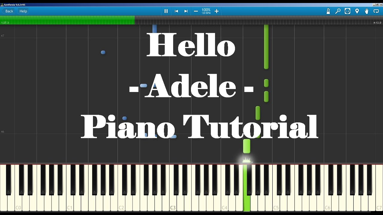 your song piano tutorial
