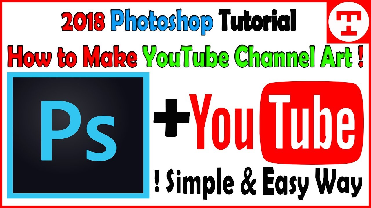 youtube channel art tutorial