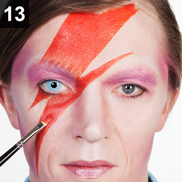 ziggy stardust makeup tutorial