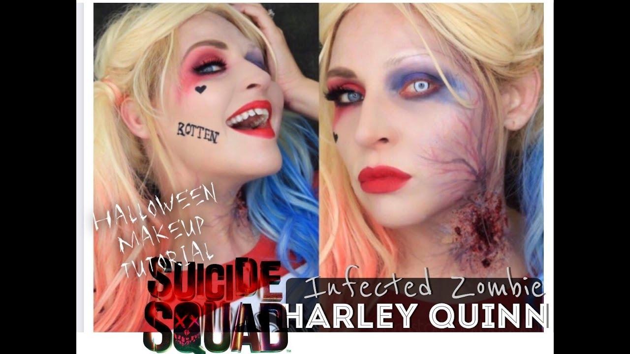 zombie bite makeup tutorial