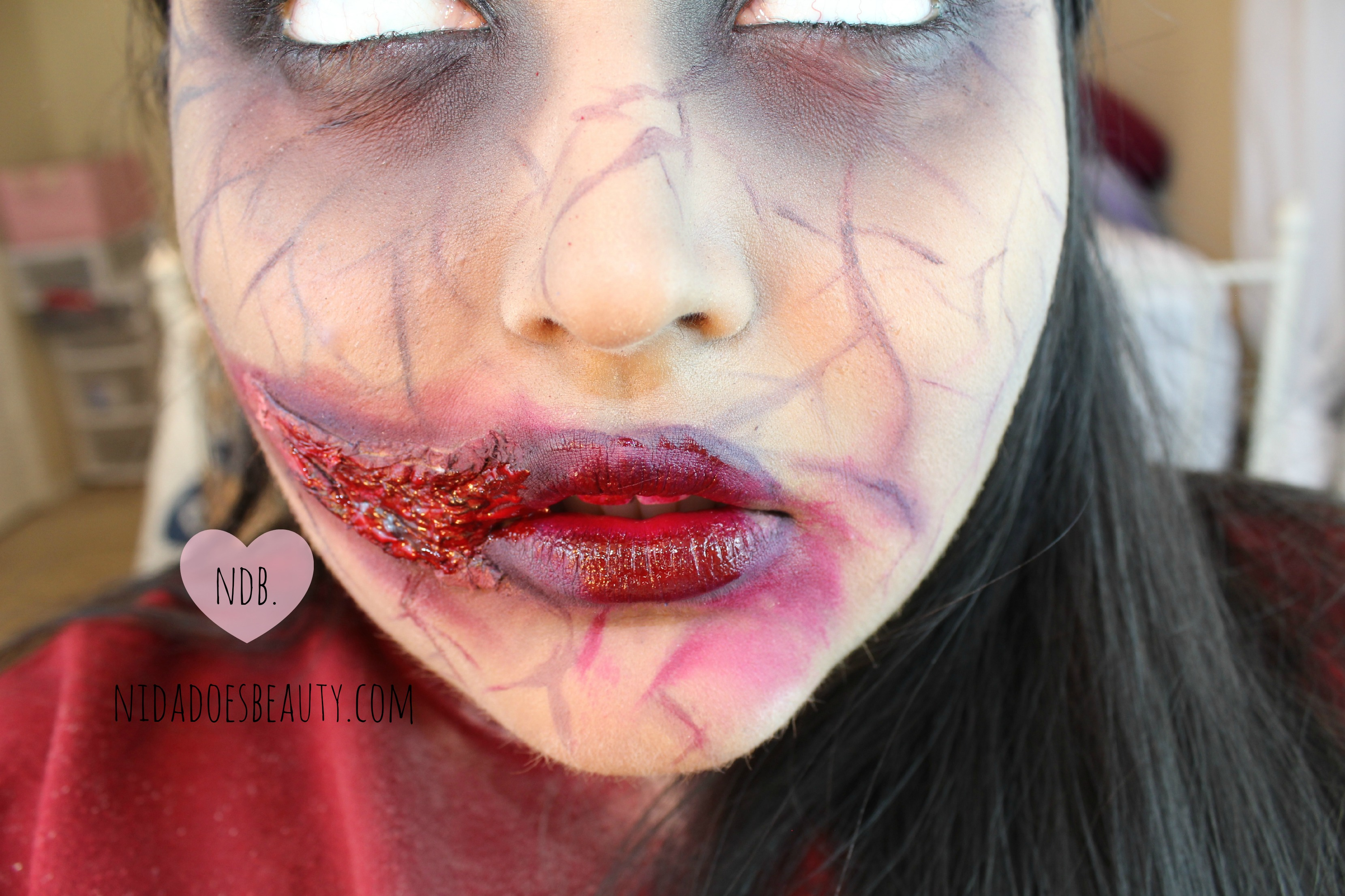 zombie make up tutorial